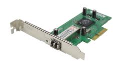 Сетевой адаптер D-Link DGE-560SX, PCI-Express X4, 1000BASE-SX(LC), Full-Duplex..