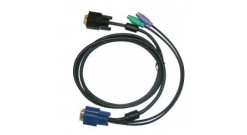 D-Link DKVM-IPCB, All in one SPHD KVM Cable in 1.8m (6ft) for DKVM-IP1/IP* devic..