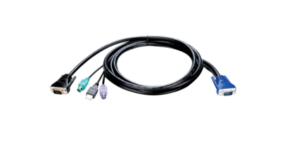 D-Link KVM-401, KVM 4-in-1 cable, 1.8m