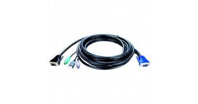D-Link KVM-403, KVM 4-in-1 cable, 5m