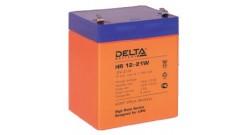 Delta серии HR 12-21W (5 А\ч, 12В) cвинцово- кислотный аккумулятор..