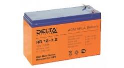 Delta серии HR 12-7.2 ( 7,2 A\ч, 12В) cвинцово- кислотный аккумулятор..