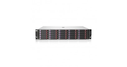 Дисковое хранилище HP D2700 SFF Disk Enclosure (2U, up to 25x 6G SAS or 3G SATA drives, 2xI/O module, 2xfans and power supplies, 2x0,5m miniSAS cables)