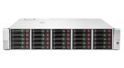 Дисковое хранилище HP D3700 SFF 12Gb SAS Disk Enclosure (2U; up to 25x SAS/SATA drives (Gen8), 2xI/O module, 2xfans and RPS, 2x0,5m HD Mini-SAS cables)