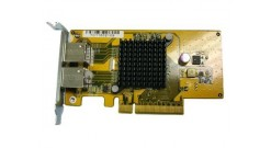 Сетевой адаптер Qnap LAN-1G2T-D Dual-port Gigabit Network Expansion Card for TS-x79 Tower Model