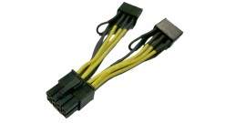 GPU power cable kit with adapter cable plus 8 to 8 pin Y and..