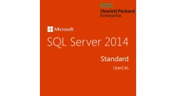 ПО MS Windows HPE Microsoft SQL Server 2014 Standard Edition 1-User CAL English ..