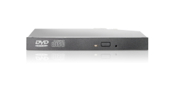 Оптический привод HP 12.7mm Slim SATA DVD ROM JackBlack Optical Drive for DL380p..