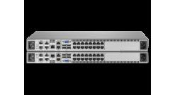 Переключатель HP 2x1Ex16 KVM IP Cnsl G2 VM CAC SW..