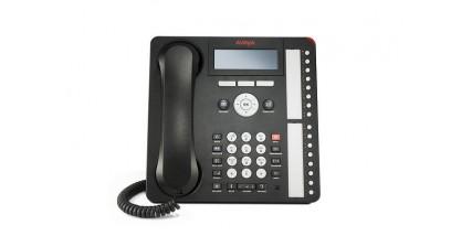 Системный цифровой телефон AVAYA IP PHONE 1616-I BLK
