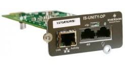 IS-UNITY-DP Карта мониторинга SNMP/Web, Modbus, BACnet для Liebert HPC, CRV, PCW..