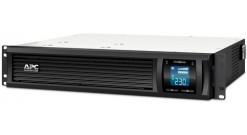ИБП APC Smart-UPS C 2000VA/1300W 2U RackMount, 230V, Line-Interactive, LCD