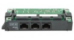 Плата расширения Panasonic KX-NS5130X Ведущая плата расширения с 3-мя портами (EXP-M) для KX-NS500RU