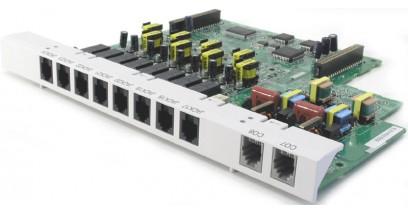Плата расширения Panasonic KX-TE82480X (2внеших+8внутренних аналоговых линий)