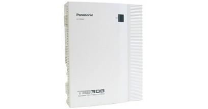 АТС Panasonic KX-TEB308RU аналоговая гибридная АТС 3x8