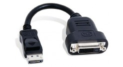 Кабель Кабель CAB-DP-DVIF, DisplayPort to DVI adaptor, Compatible with the following Matrox products: TripleHead2Go DP Edition, DualHead2Go DP Edition and Matrox M9128, M9138, M9148 and M9188