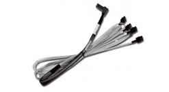 Кабель Кабель CBL-RA8087SATASB-10M Internal 1.0m SFF-8087 to SATA fanout with sideband (LSI00274)