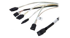 Кабель MINI SAS HD internal cable SFF8643 to x4 SATA 0,6м (LSI00410)..