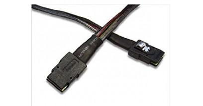 Кабель Кабель SFF-8087 Mini-SAS W/Side Band, 0.6M Mini-SAS (LSI00256)