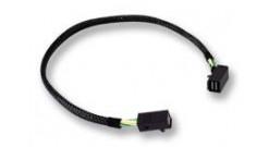 Кабель LSI00413 RIGHT ANGLE MINI SAS HD (SFF-8643 x SFF-8643 ) 0,4м..