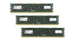 Модуль памяти Kingston 48GB 1600MHz DDR3 ECC Reg CL11 DIMM (Kit of 3) 2Rx4 Intel