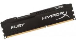 Модуль памяти KINGSTON 8GB 1866MHz DDR3L CL11 DIMM 1.35V HyperX FURY Black Series