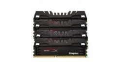 Модуль памяти Kingston DRAM 16GB 1866MHz DDR3 CL10 DIMM (Kit of 4) XMP HyperX Beast, EAN: 740617229301