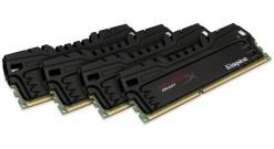 Модуль памяти Kingston DRAM 16GB 1866MHz DDR3 CL9 DIMM (Kit of 4) XMP HyperX Beast, EAN: 740617234978