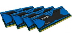 Модуль памяти Kingston DRAM 16GB 1866MHz DDR3 CL9 DIMM (Kit of 4) XMP HyperX Predator, EAN: 740617234954