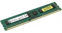 Модуль памяти Kingston DRAM 8GB 1600MHz DDR3 Non-ECC CL11 DIMM Height 30mm Bulk 50-unit increments, EAN: 740617222227