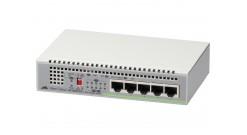 Коммутатор Allied Telesis 5 port 10/100/1000TX unmanaged switch with internal po..