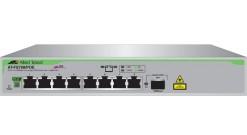 Коммутатор Allied Telesis 8 port 10/100 unmanaged POE switch with 1 SFP uplink..