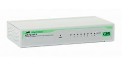 Коммутатор Allied Telesis AT-FS708LE 8x10/100BaseTX, внешний б/п, миниверсия..