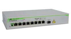 Коммутатор Allied Telesis AT-FS708/POE-50 19U 8x10/100BASE-TX 1x10/100/1000BASE-..