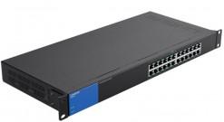 Коммутатор Linksys LGS124P-EU 24-порта 10/100/1000BASE-T PoE+ неуправляемый..