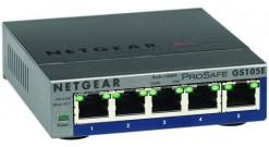 Коммутатор NETGEAR GS105E-200PES 5-портовый гигабитный коммутатор ProSafe Plus с..