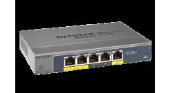 Коммутатор NETGEAR GS105PE-10000S 5-портовый 10/100/1000 Мбит/с коммутатор (из н..