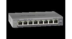 Коммутатор NETGEAR GS108E-300PES 8-портовый гигабитный коммутатор ProSafe Plus с..