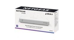 Коммутатор NetGear GC110-100PES управляемый настольный 8x10/100/1000BASE-T..
