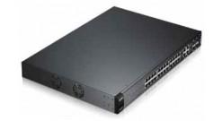Коммутатор Zyxel ES3500-24HP 24-портовый управляемый PoE-коммутатор Fast Etherne..