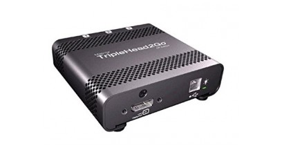 Коммутатор видеосигнала Matrox T2G-DP-MIF TripleHead2Go TripleHead2Go DP Edition, enables you to attach three displays to your computer (cable for PC and Mac included)
