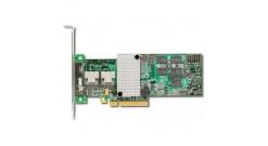Контроллер LSI Logic SAS 9265-8I (PCI-E 2.0 x8, LP) SGL SAS6G, Raid 0,1,10,5,6, 8port (2*intSFF8087),512MB onboard