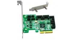 Контроллер LSI Logic SAS 8708EM2 SGL (LSI00180) 8-Port, 3Gb/s SATA+SAS, PCle, 256MB