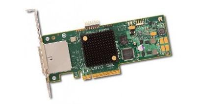 Контроллер LSI Logic SAS 9205-8E SGL (LSI00285) PCI-E, 6 Gb/s, SAS, 8-port Host Bus Adapter