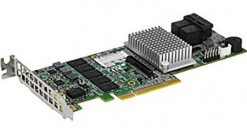 Контроллер Supermicro AOC-S3108L-H8iR-16DD 8 ports (Int), 12Gbs (SAS3), 2GB DDR3 Cache, RAID 0, 1, 5, 6, 10, 50, 60 - Low Profile