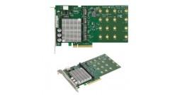 Контроллер Supermicro AOC-SHG3-4M2P-O - Full Height, Quad-port M.2 NVMe SSD PCI-E 3.0 add-on card
