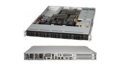 """Корпус Supermicro CSE-116TQ-R706WB 1U, E-ATX, 2x700W, 10x2.5"""""""" HDD, WIO Riser Card"""