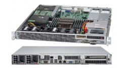 """Корпус Supermicro CSE-514-R407W Support WIO MB, max MB size 12.3"""""""" x 13"""""""" and Proprietary MB 8"""""""" x 13"""""""", 2.Up to 2 x 2.5"""""""" fixed with bracket, 1U 400W RPSU"""