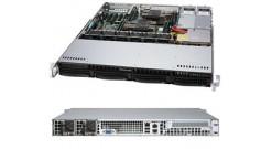 "Корпус Supermicro CSE-813MF2TQC-R804CB 1U 4x3.5"""" hot-swap SAS/SATA, 2x800W черный"