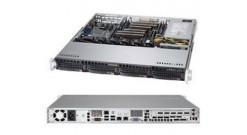 "Корпус Supermicro CSE-813MFTQC-505CB 1U (12""""x10"""" ATX, 12Gbps Back., 4x3.5"""" HDD HS, 500W, 503mm.)"